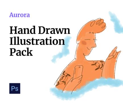 Aurora Illustrations by Craftwork Design