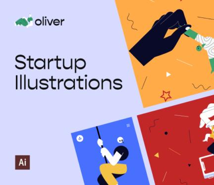 Oliver Illustrations by Craftwork Design